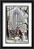 Faith 2x Matted 26x39 Large Black Ornate Framed Art Print by Ruth Thompson