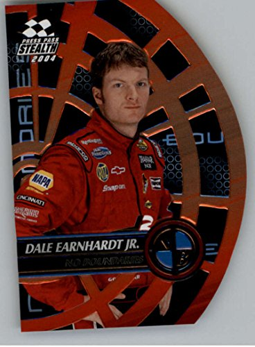 2004 Press Pass Stealth No Boundaries #NB11 Dale Earnhardt Jr. NM-MT