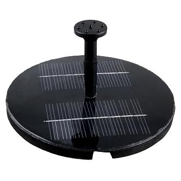 spray head solar pump garden fountain pond water feature powered kit reviews bird bath for ponds