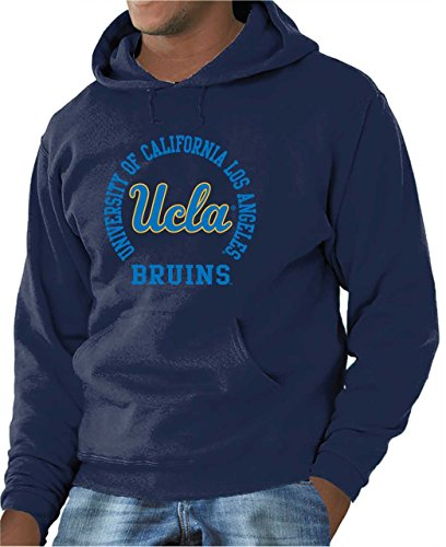 Campus Colors UCLA Bruins Adult NCAA Team Spirit Hooded Sweatshirt - Navy, Medium ()