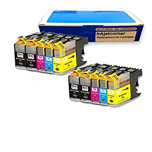 Amazon.com: Inkjetcorner 10 Pack Compatible Ink Cartridge for Brother