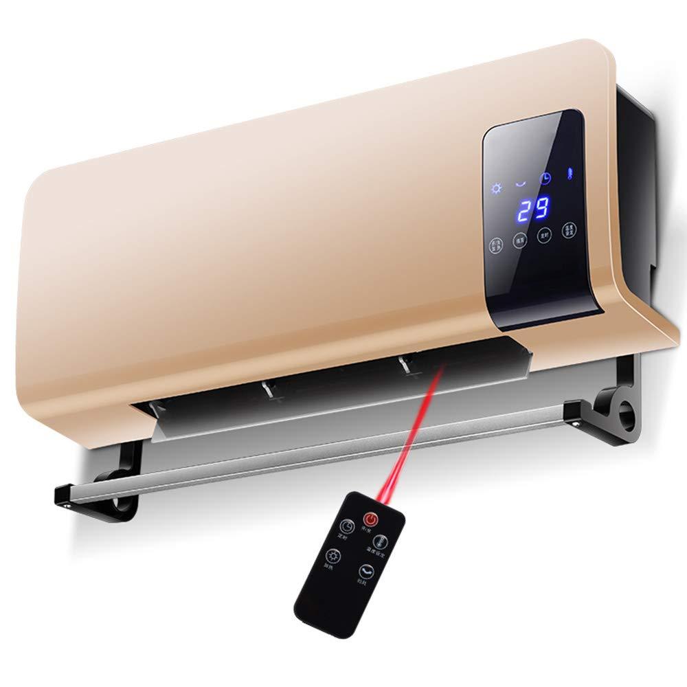 Acquisto MSNDIAN Riscaldatore di calore rapido impermeabile riscaldatore domestico del bagno riscaldatore elettrico montato a parete della parete del riscaldamento elettrico della parete Riscaldamento domestic Prezzi offerte