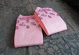 2 Diapers - DC Amor - Medium/Large - all pink theme! plastic-backed adult baby (No Scent, Medium) from DC