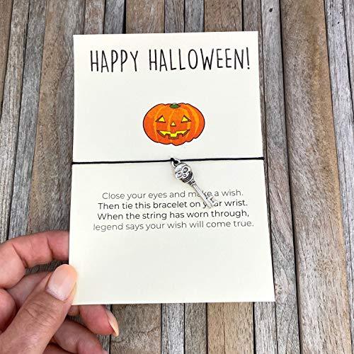 Halloween Halloween Favors Halloween Wish Bracelet Happy Halloween Halloween Jewelry Halloween Present Halloween Party Halloween Gift