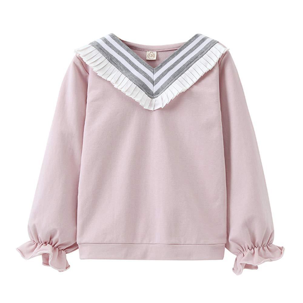 Romance8 Girls College Wind T-Shirt Long Top Lace Uniform