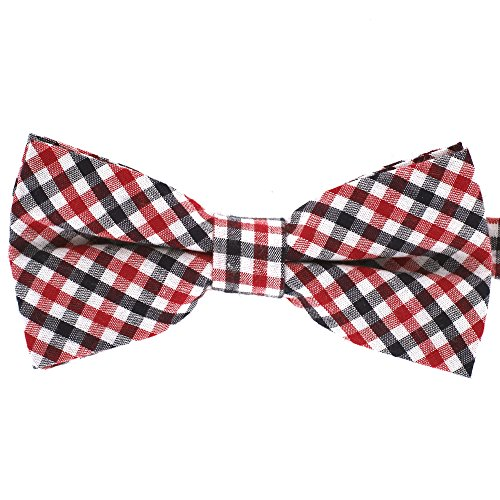 Tok Tok Designs® Handmade Men Bow Ties - B133 (100% Cotton)