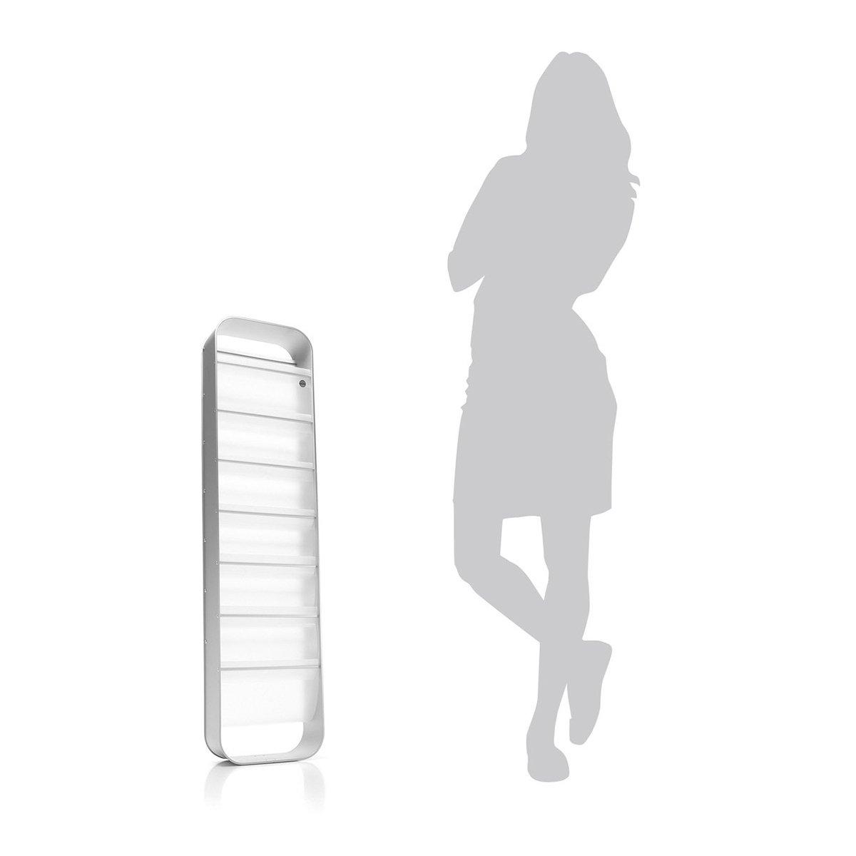 reisenthel redondo magazine rack transparent // farblos regal designregal 7 compartments zeitungsregal IU1004