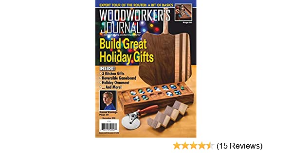 Woodworker S Journal The Amazon Com Magazines