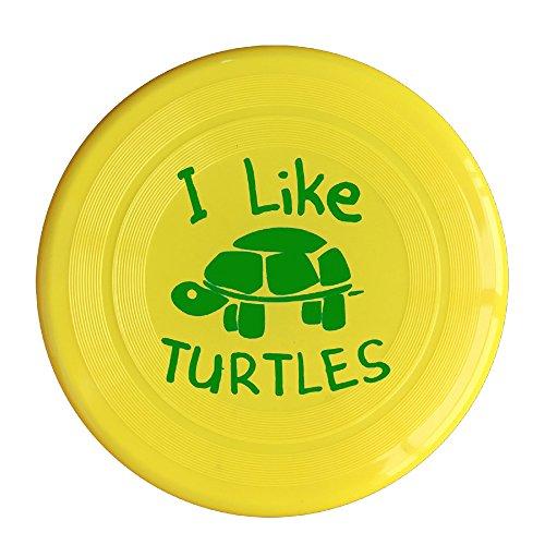 Uhouq Like This Turtles Frisbee Size One Size Yellow (Wholesale Ipod Shuffle)
