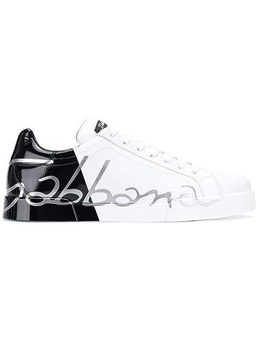 E Cs1600ai053hn821 Leder Sneakers Herren Gabbana Dolce Weissschwarz 1cTJK3lF