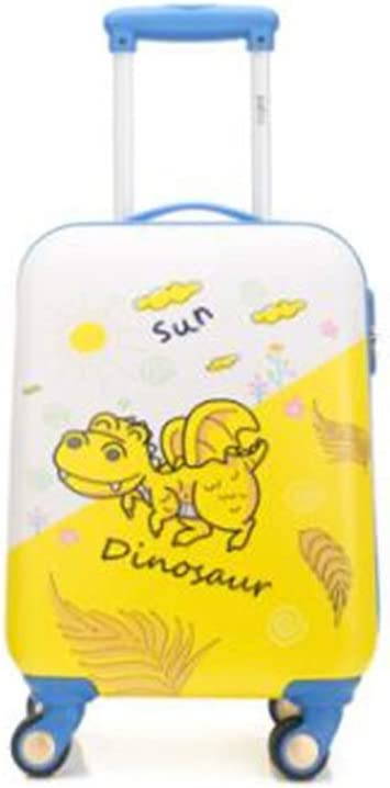 Multi-Color Trolley case 18//19//20 Size : 18, Style : D Cartoon Travel Trolley case Wulianshangmao Trolley case Universal Wheel Luggage