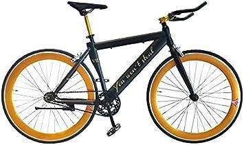 Helliot Bikes Fixie Nolita 55, Ruedas de 28 Pulgadas, Llantas de ...