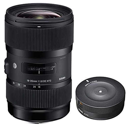 Price comparison product image Sigma AF 18-35mm f / 1.8 DC HSM Lens for Nikon with USB Dock for Nikon Lens