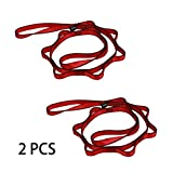 Geelife Multipurpose Daisy Chain 2pcs 23kN Strong Climbing Straps 43 Inches
