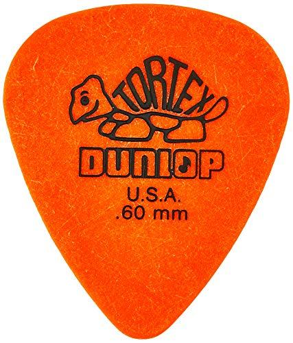 Dunlop 418R.60 Tortex Standard, Orange, .60mm, 72/Bag