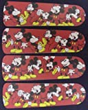 Ceiling Fan Designers 42SET-DIS-DMM Disney Mickey Mouse no.1 42 in. Ceiling Fan Blades Only