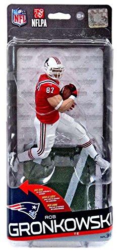 McFarlane Toys NFL New England Patriots Sports Picks Series 36 Rob Gronkowski Action Figure [Red Jersey, White Pants]