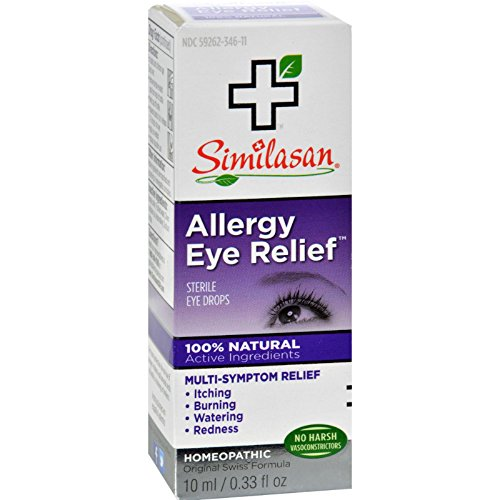 - Similasan Allergy Eye Relief Eye Drops 0.33 oz