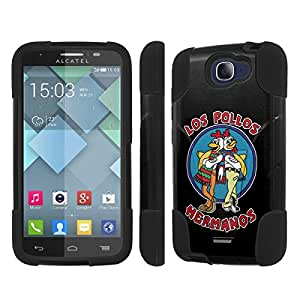 NakedShield Alcatel Oone Touch Fierce 2 7040T Los Pollo Hermanos T Armor Tough Shock Proof KickStand Phone Case
