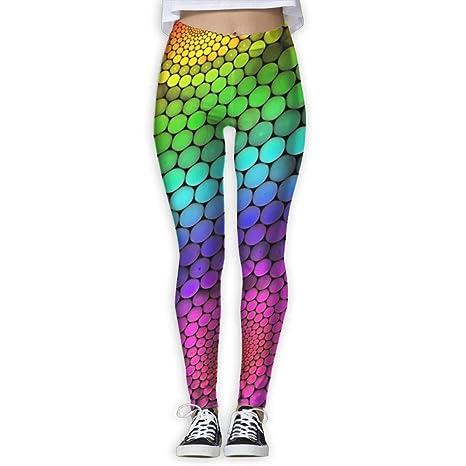 c07b1c44774cc 15DIW Colorful Ball Print Yoga Leggings High Rise Yoga Pants Casual Wear  Popular Joggers