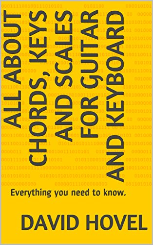 All About Chords, Keys and Scales for Guitar and Keyboard: Everything you need to know.
