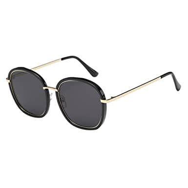 Zhuhaixmy Vintage Women Men Round Frame Eye Glasses Driving ...