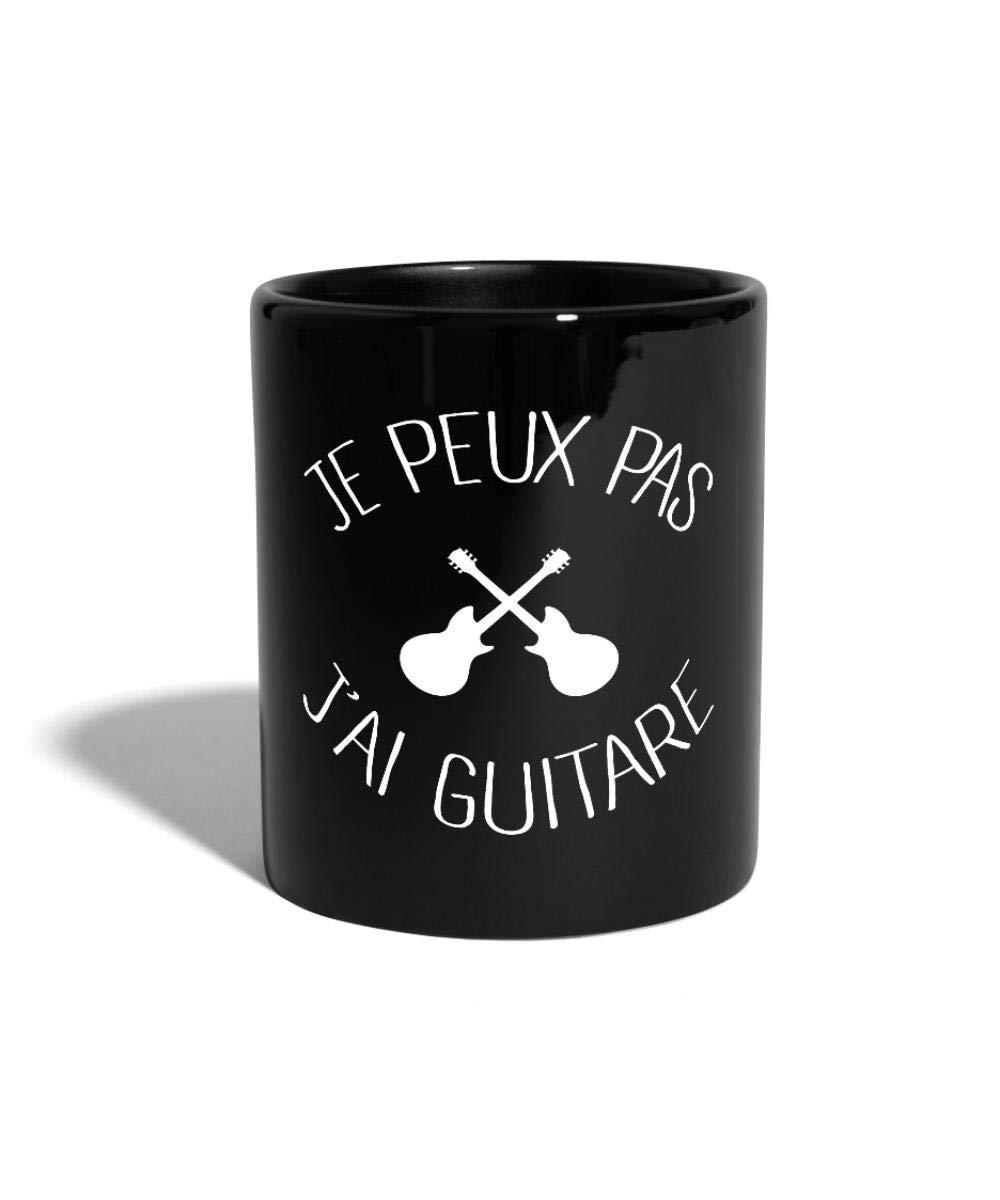 bleu royal Je peux pas jai guitare Tasse Mug