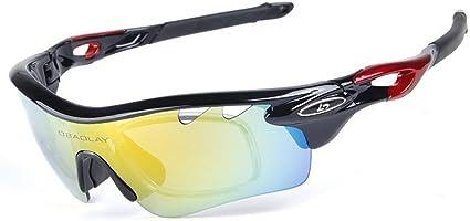 RockBros Polarized Sporting Cycling Sunglasses Running Fish Glasses PC Yellow
