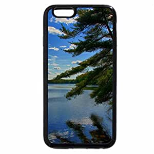 iPhone 6S / iPhone 6 Case (Black) Leaning Tree