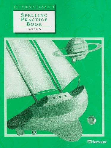 Trophies: Spelling Practice Book Grade 5
