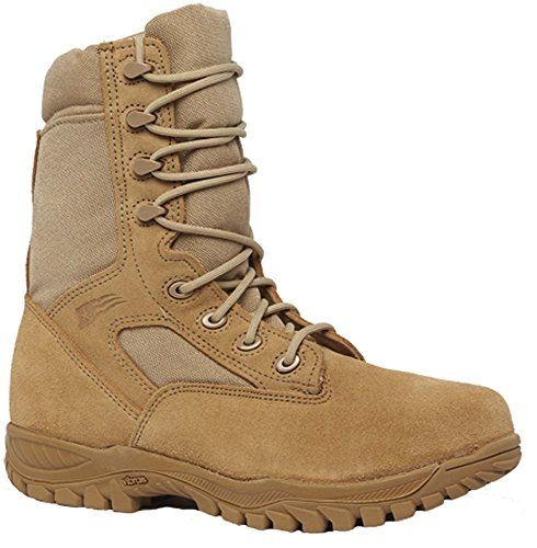 steel toe army boots - 8