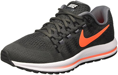 Nike Air Zoom Vomero 12, Zapatillas de Running para Hombre, Multicolor (Midnight Fog/Total Crimson-Cool Grey), 42.5 EU