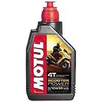 MOTUL 105936- Aceite para Moto, 10 W30,4T, 1