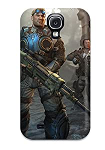 Quality Michele Hadden Case Cover With Gears Of War Judgment Game Nice Appearance Compatible With Galaxy S4