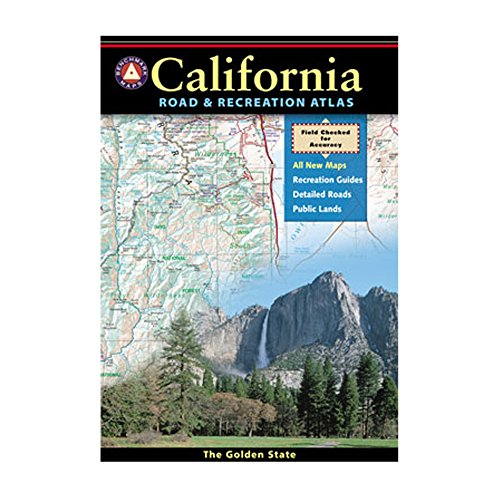Benchmark Maps California Road & Recreation Atlas