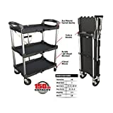 Tools & Hardware : Olympia Tools 85-188 Collapsible Service Cart