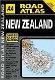 AA Road Atlas New Zealand (AA Road Atlases)