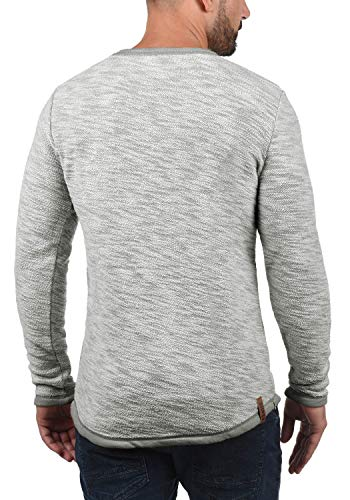Rond Mid solid Coton Homme Sweat Flocks Col Hoodie Avec Grey 2842 100 Capuche Pull Apq18xqwTP