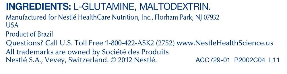 Glutasolve Glutamine Powder Unflavored 0.79 oz Packet 56 Pack by Glutasolve (Image #4)
