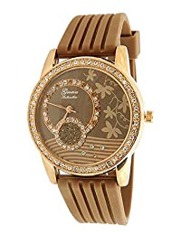 Geneva Authentic Four Seasons Autumn Leaf Dial Women's Watch L3001FSA
