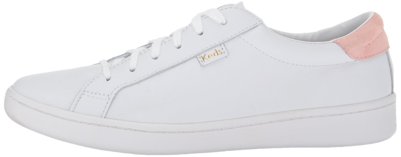 Keds Ace Damen Ace Keds Core Leder Oxfords Weiß (Weiß/Blush) a03575