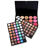 Beauty Naked Eyeshadow Palette Makeup, NOMSOCR 95 Colors Glitter Long Lasting Shimmer Powder Smokey & Matte Eye Shadow Pallete Professional Waterproof Warm Cosmetic (A)