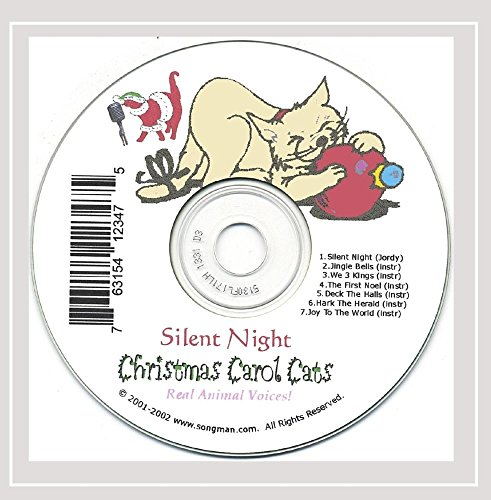 Silent Night Christmas Music for Cat Lovers