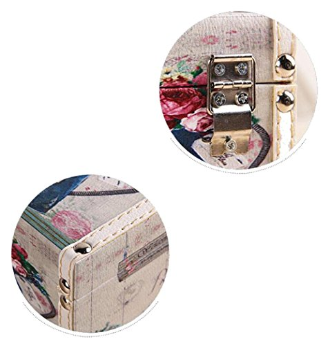 Rectangular PU Leather Facial Tissue Box Home Office Decor , suits 2 , 24138.5 by YANXH home (Image #2)