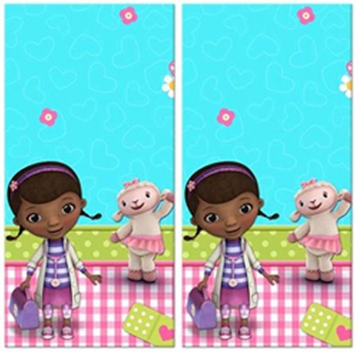 Doc McStuffins Party Plastic Tablecovers - 2 Pieces ()