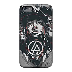 Durable Hard Phone Covers For Iphone 6 With Unique Design High-definition Linkin Park Skin AnnaDubois