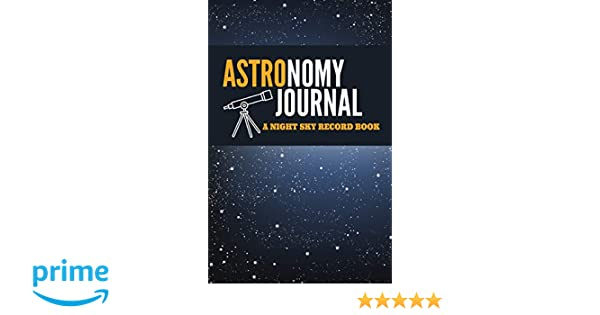 notebook astronomy journal gift journal for art and star lovers stargazing telescope notebook journal