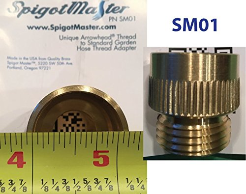 2-Pack: SpigotMaster ~SM01 Vacuum Breaker Adapter~ Converts an Arrowhead PK1390 Anti-Siphon Valve Into a Straight Through Connection by Spigotmaster (Image #7)