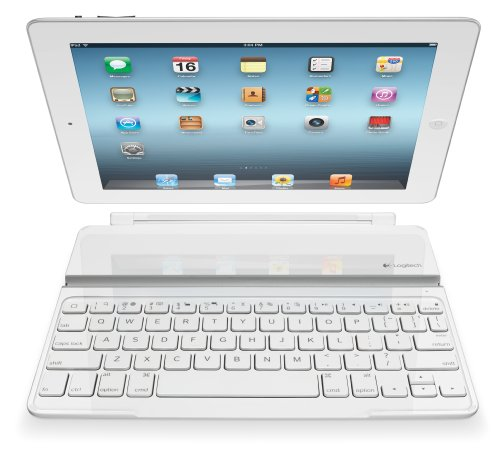 Logitech Ultrathin Keyboard Cover White For IPad 2 And