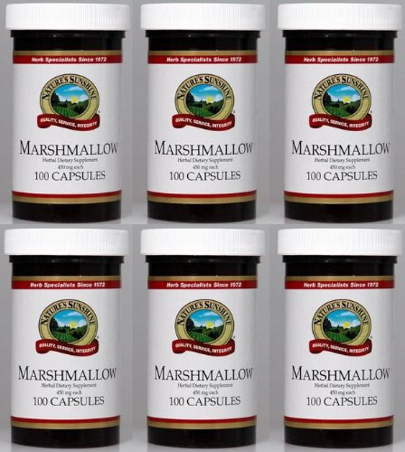Naturessunshine Marshmallow Respiratory System Support 450 mg 100 Capsules (Pack of 6) by Nature's Sunshine